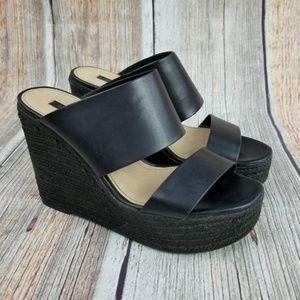 Zara Trafaluc Wedge Heels Size 37